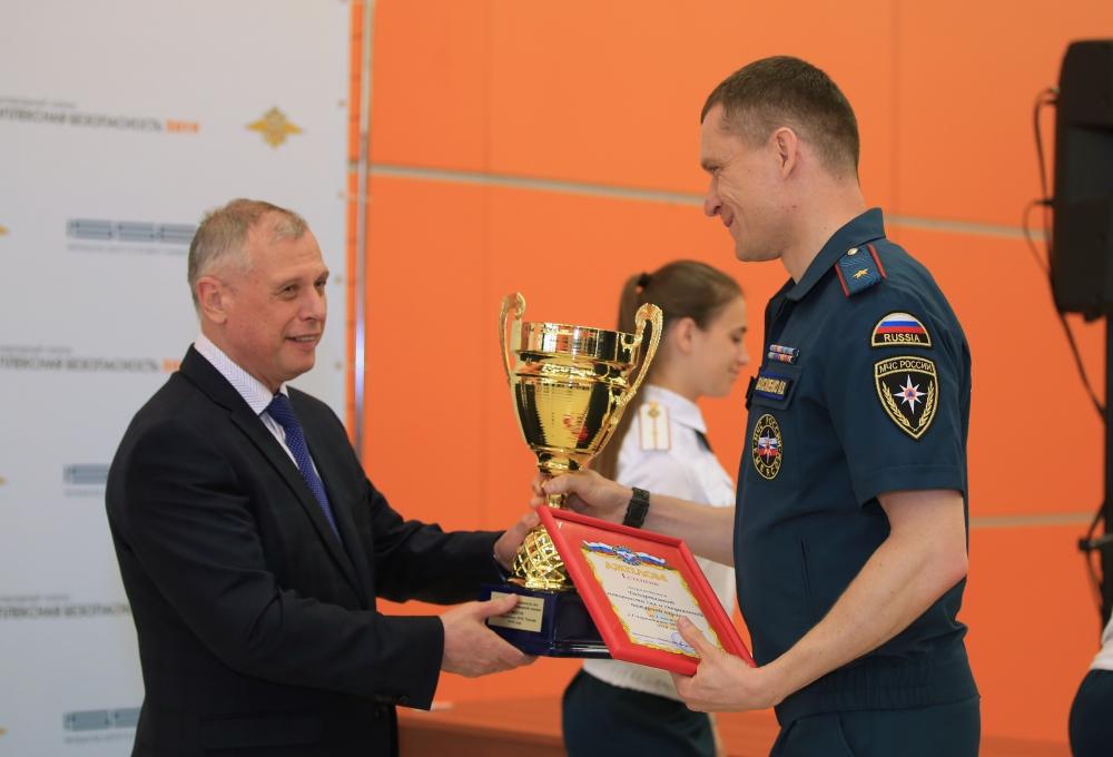 Победители Спартакиады МЧС России получили награды