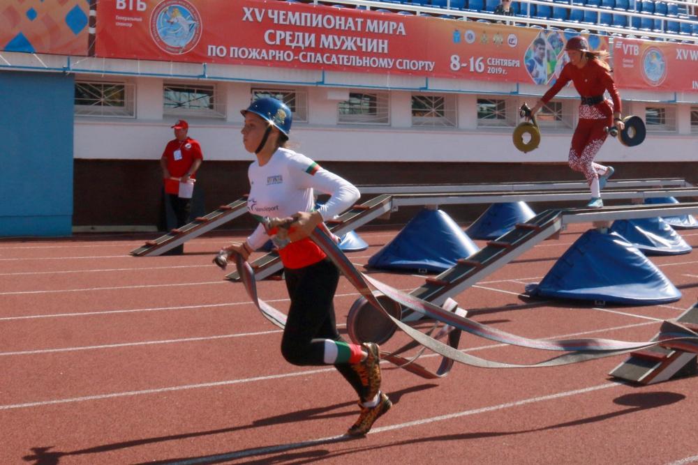 Объявлены победители полосы препятствий Чемпионата мира по пожарно-спасательному спорту в Саратове