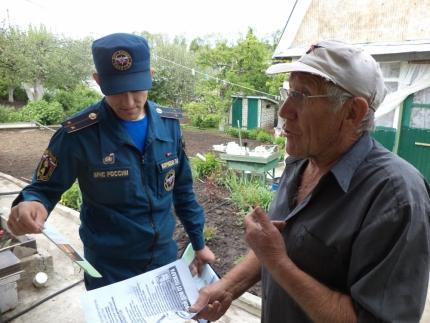 Пожарная безопасность дачных сообществ в регионах - на контроле  сотрудников МЧС России