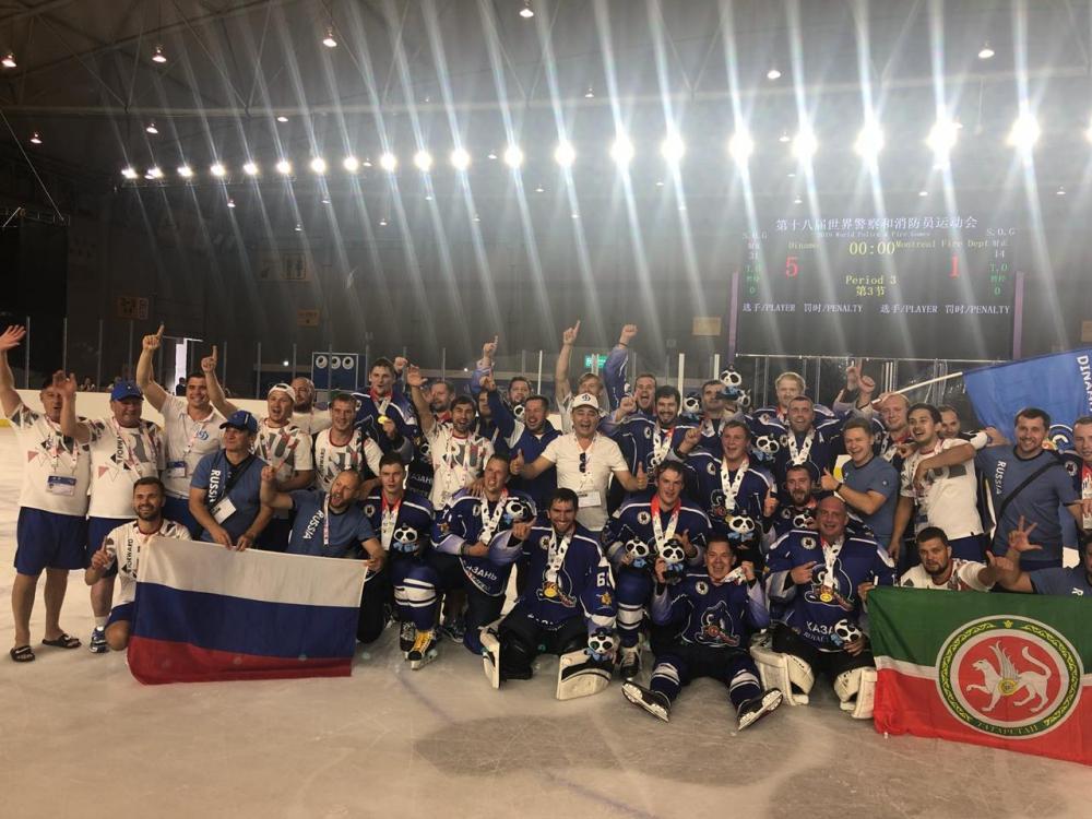 Хоккеисты МЧС России стали чемпионами мира