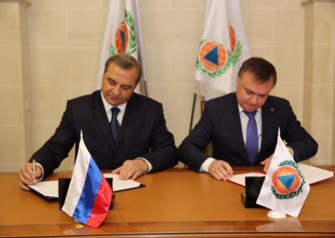 Сотрудничество МЧС России и МОГО