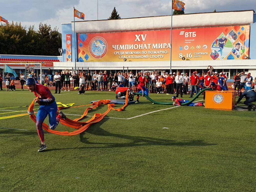 Все 4 сборных России стали Чемпионами мира по пожарно-спасательному спорту