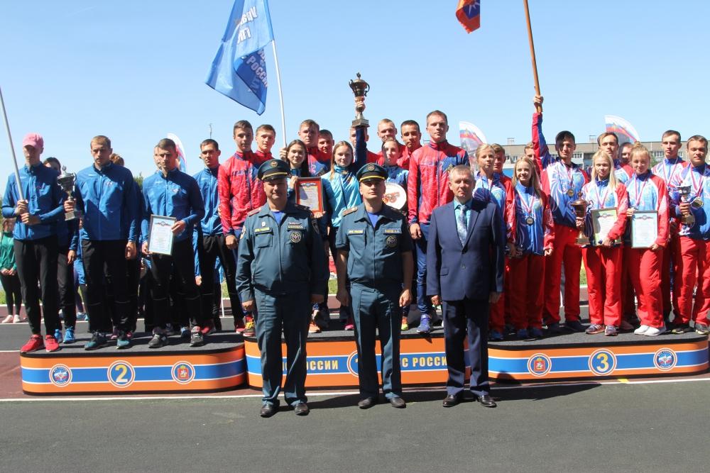 В Подмосковье завершились соревнования среди вузов МЧС России