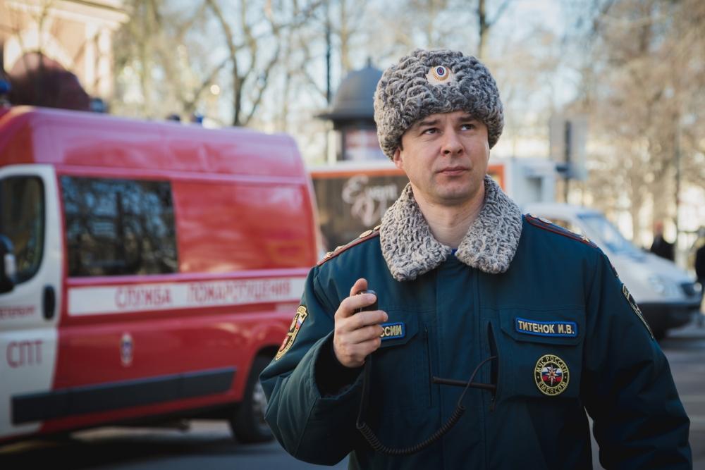 «Коллектив Управления организации пожаротушения и проведения аварийно-спасательных работ – это боеспособная единица, которая может выполнять любые задачи»