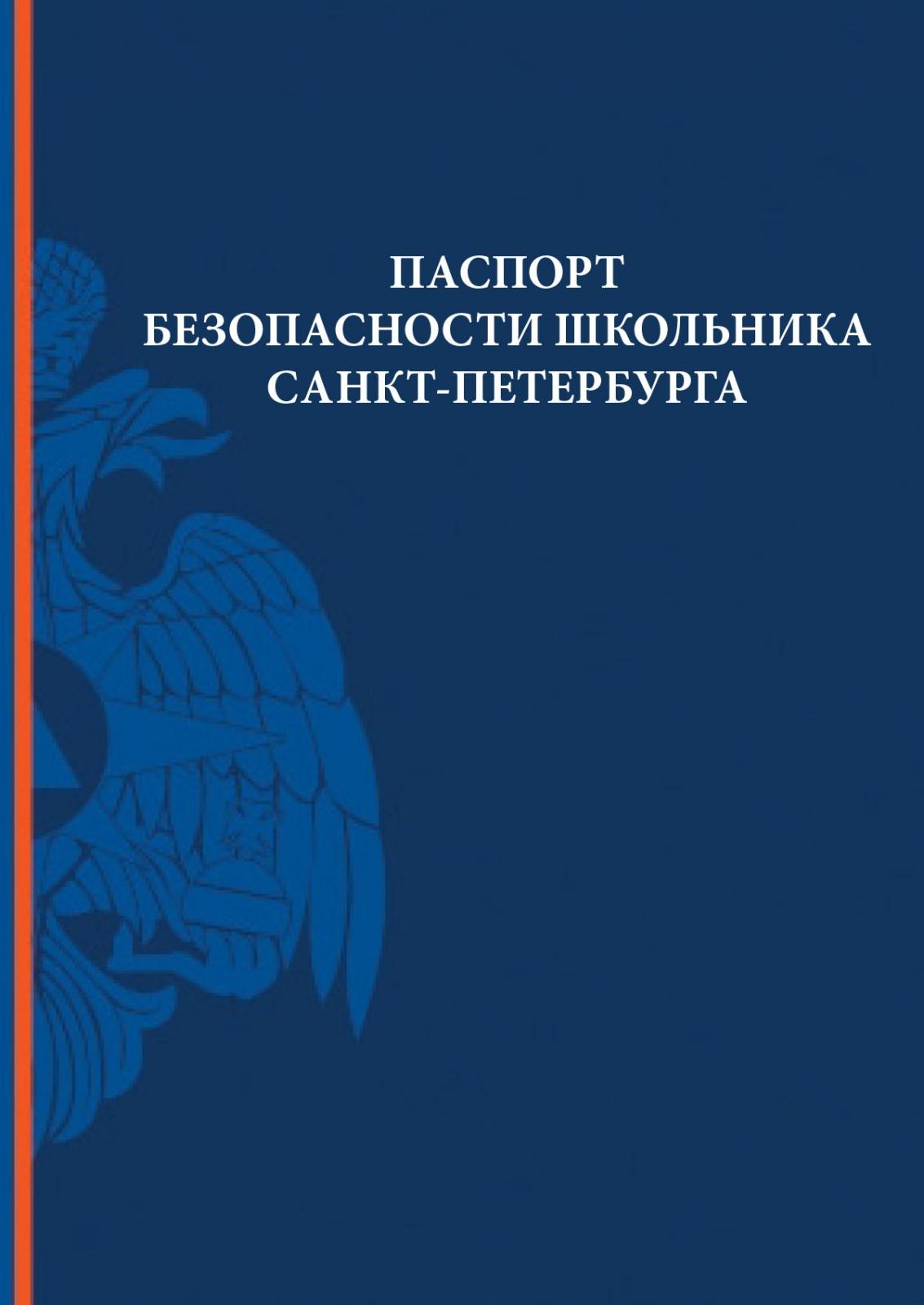 Паспорт безопасности школьника Санкт-Петербурга