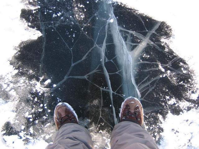 Основные правила поведения на льду