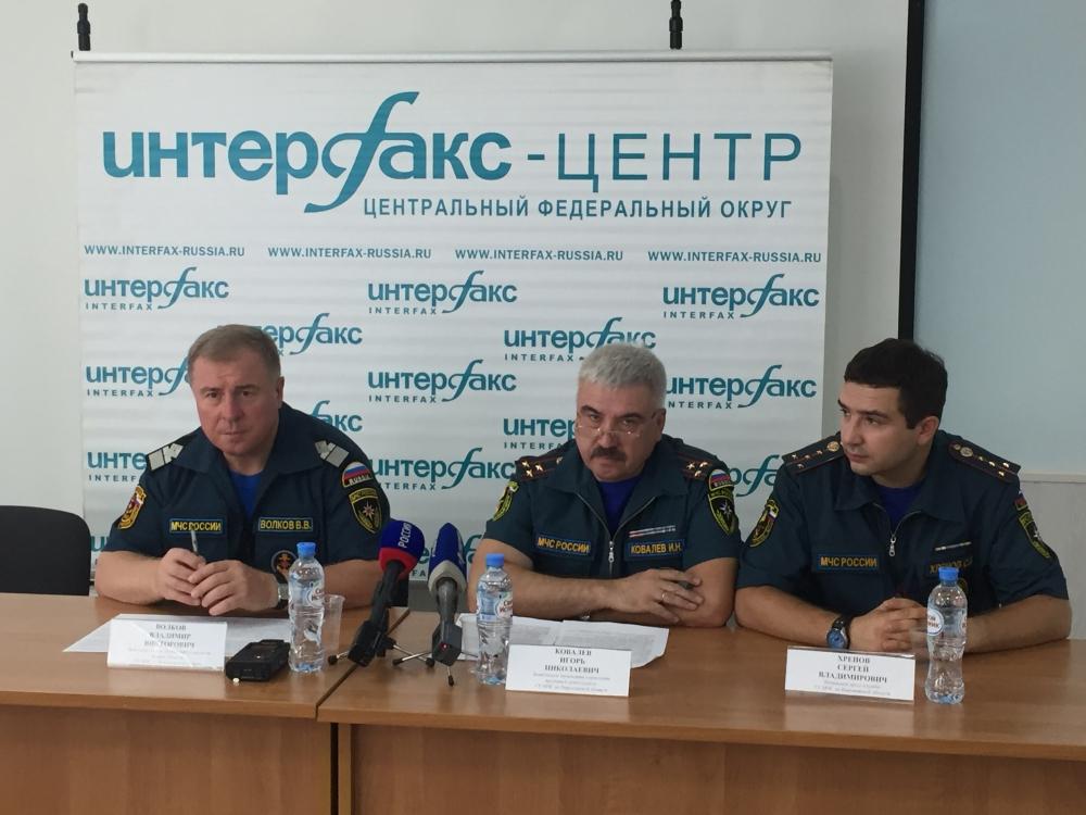 Пресс - конференция в ИА «Интерфакс» по обеспечению безопасности населения в летний период времени
