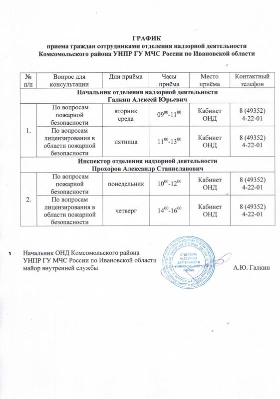 ОНД и ПР Комсомольского района