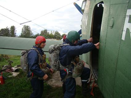 В Ивановской области приступила к подготовке аэромобильная группа спасателей