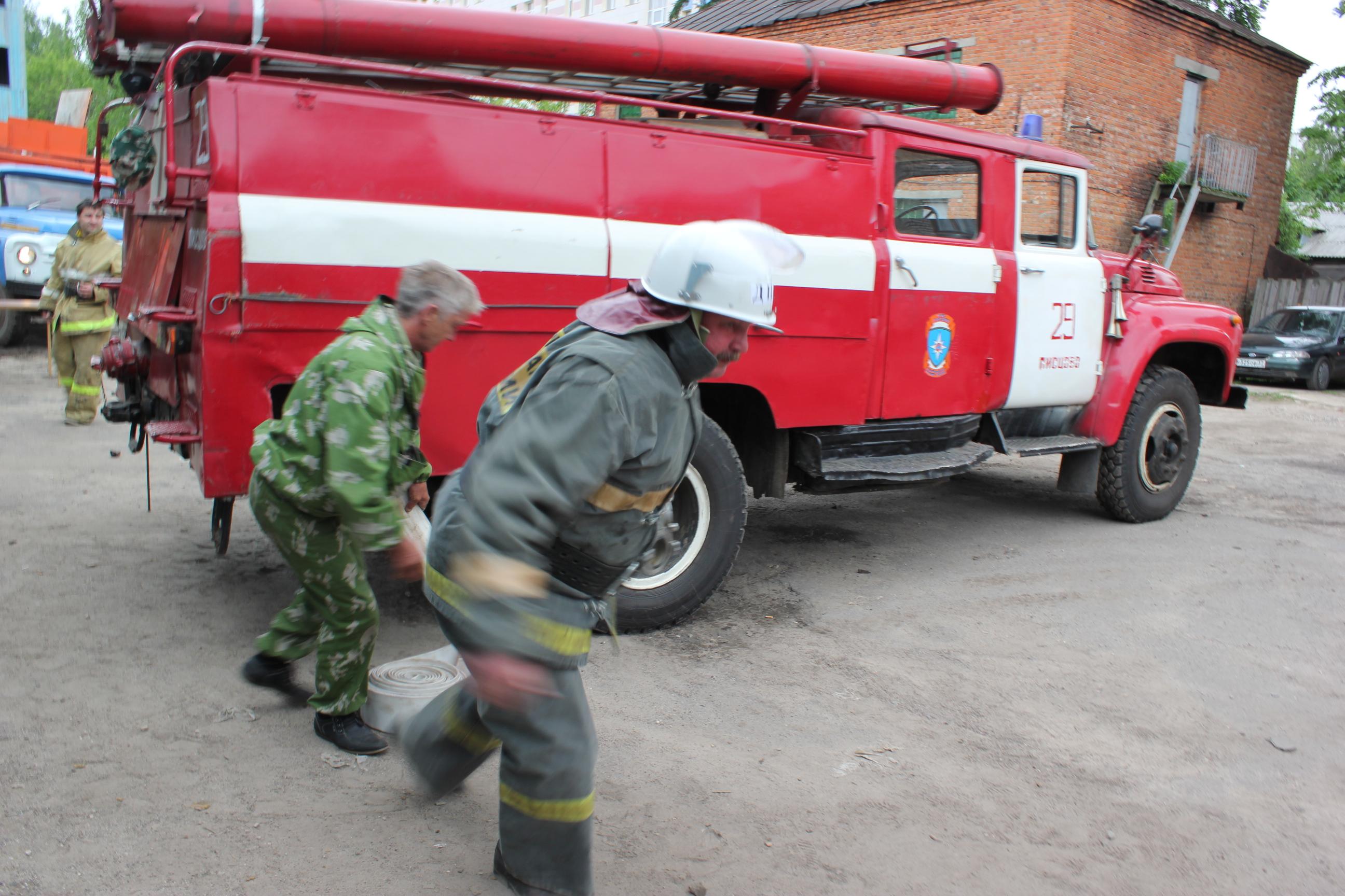 Соревнования добровольных пожарных команд Ивановской области