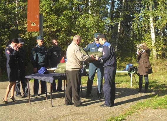 Учебно-методический сбор студентов добровольных спасательных формирований высших учебных заведений Ивановской области
