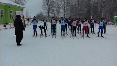 Соревнования по лыжам в Год Гражданской обороны МЧС России