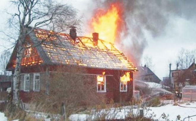 Действия в случае обнаружения пожара в доме