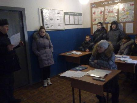 День открытых дверей в  ПЧ ППС Курской области в Фатежском  районе