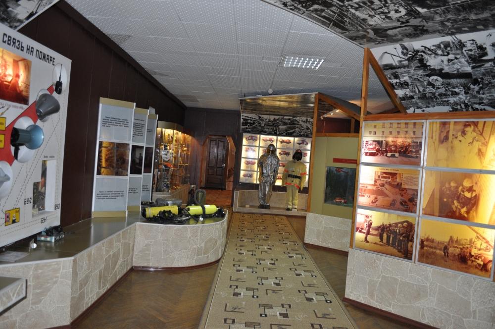 Пожарно-техническая выставка ГУ МЧС России по Липецкой области