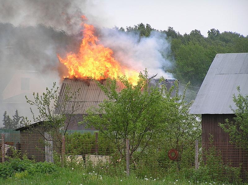 О пожарной безопасности на дачном участке