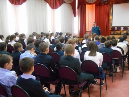 В честь 25-летия МЧС России в Московской области проводят уроки безопасности