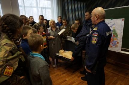 Подмосковные огнеборцы посетили Ногинскую общеобразовательную школу №21
