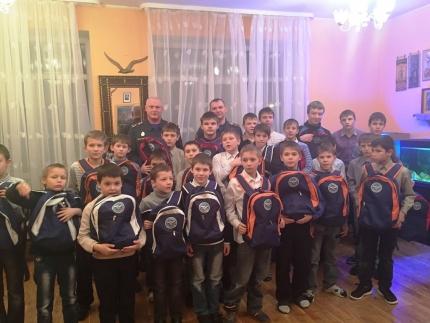 Сотрудники МЧС России поздравили воспитанников Саввино-Сторожевского приюта с наступающим Новым годом