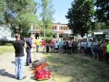 Спасатели провели занятия в Детском оздоровительном комплексе «Зеленый шум»