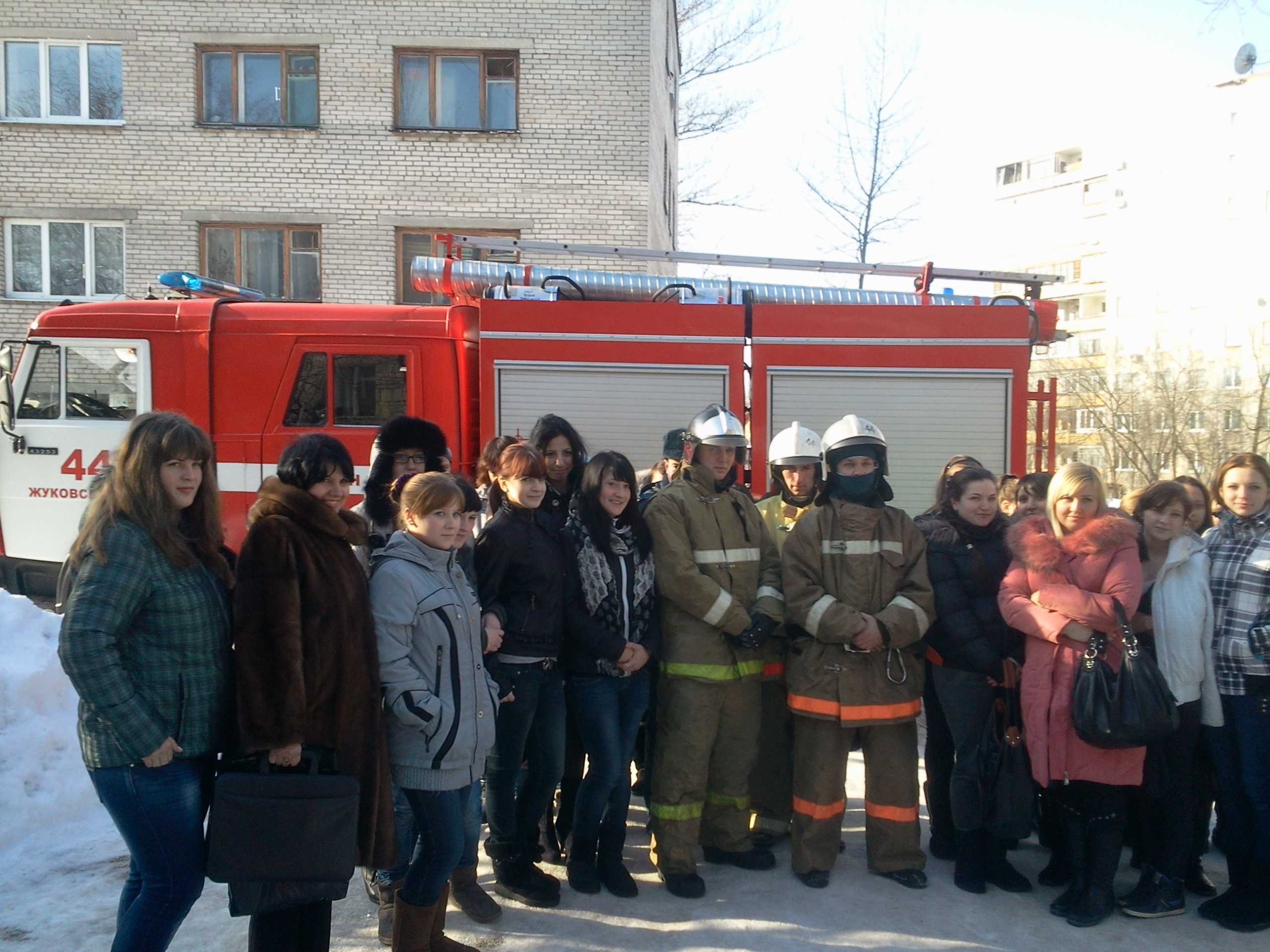 Работа инспекторов отдела надзорной деятельности, пожарных и спасателей в Раменском районе