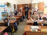 Сотрудники МЧС Люберецкого района проводят профилактическую работу со школьниками
