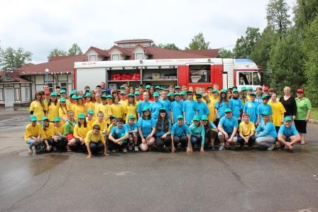 И в летнем лагере мы помним о пожарной безопасности