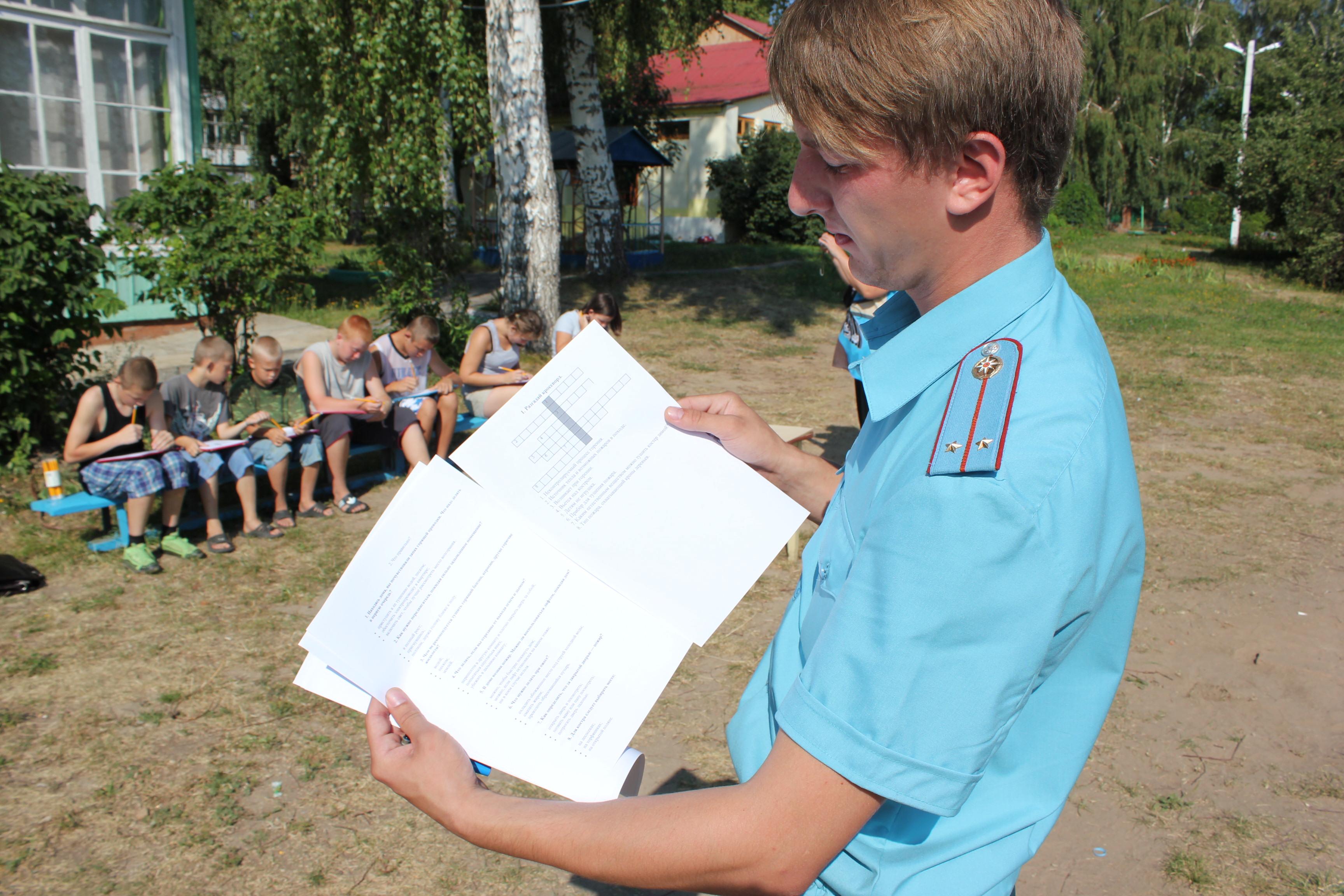 Шефская помощь детскому дому в Луховицком районе Московской области