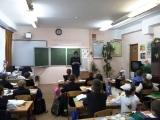 Занятия по противопожарной безопасности в школе №4 Павлово-Посадского района