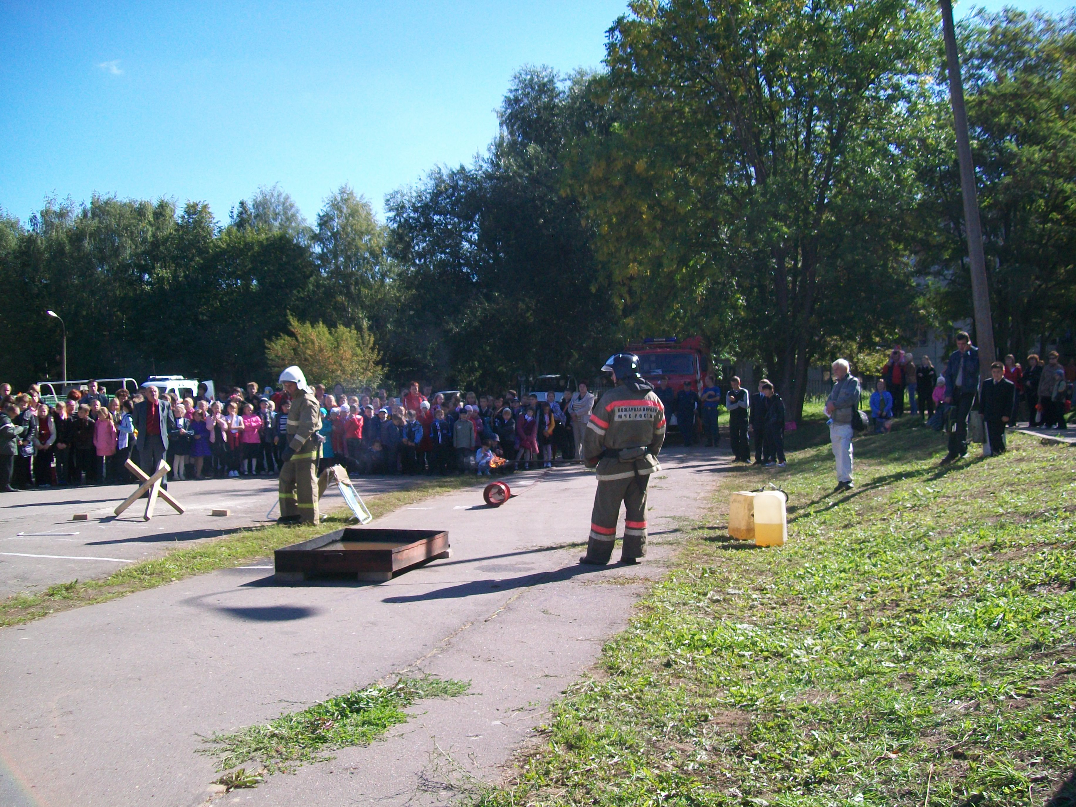 Месячник безопасности в учебных учреждениях Московской области в период с 30 августа по 1 октября 2011 года