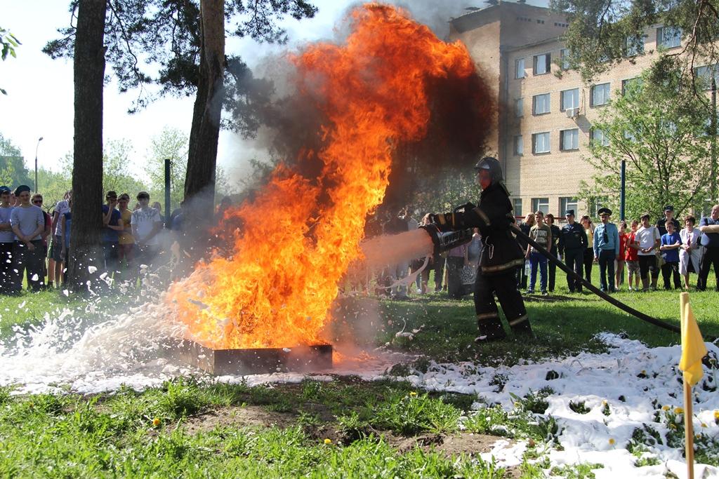 На территории Орехово-Зуевского района прошел слёт дружин юных пожарных