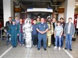 Экскурсия в пожарную часть города Раменское