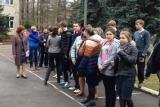 Тренировка по отработке действий по эвакуации в случае пожара в г. Чехов.