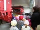 Экскурсия детей к пожарным ПЧ-32 Коломенского района