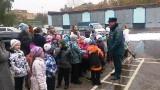 Экскурсия для детей в 17-ю пожарную часть Мытищинского района