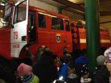 В гостях у огнеборцев побывали школьники из Чехова