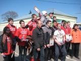 Праздник спорта для юных пожарных