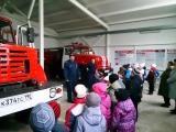 Школьники в гостях у Раменских пожарных