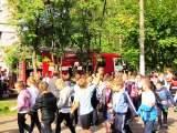 Плановая учебная эвакуация в Балашихинской школе