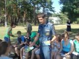 Профилактическое занятие в лагере «Родина»