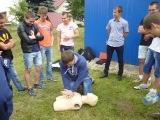 Занятия с представителями молодежного крыла «Россоюзспаса»