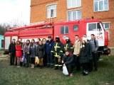 Серпуховские пожарные в Пролетарской школе