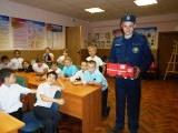 Школьники начальной школы №33 города Электроугли посетили пожарную часть №240 Ногинского территориального управления