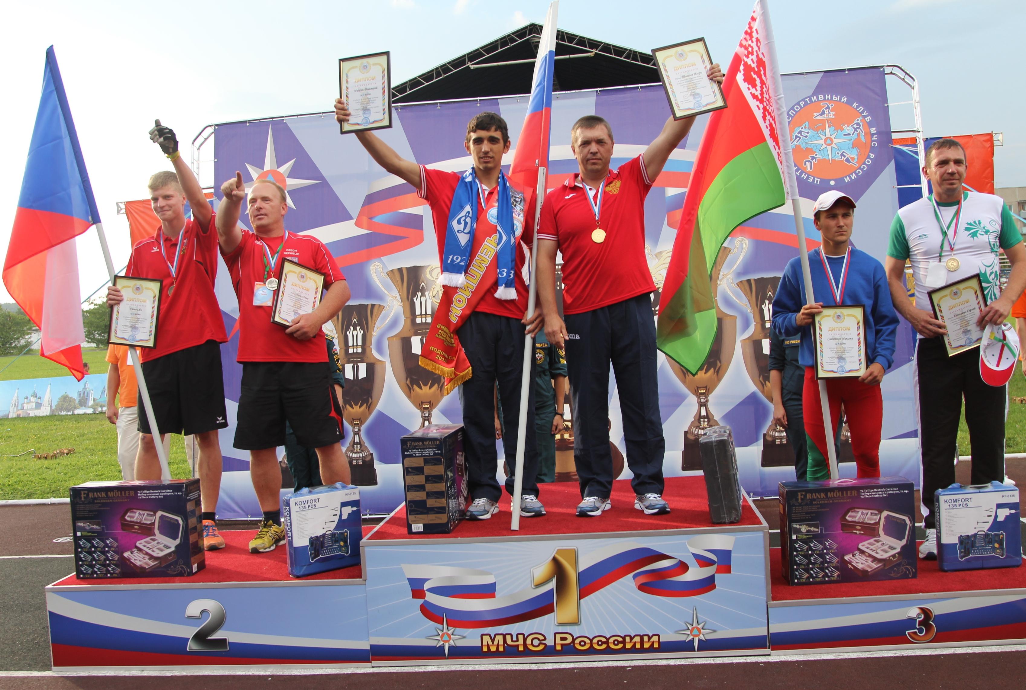 Сборная России завоевала первые золотые медали на Чемпионате мира среди юношей по пожарно-спасательному спорту.