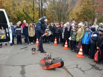Выставка пожарной и спасательной техники прошла в подмосковном городе Фрязино