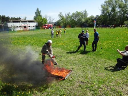 Юный пожарный и спасатель