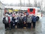 Школьники Красногорска побывали в гостях у огнеборцев