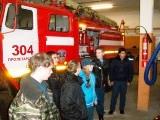 Подмосковная пожарная часть № 304 принимает гостей