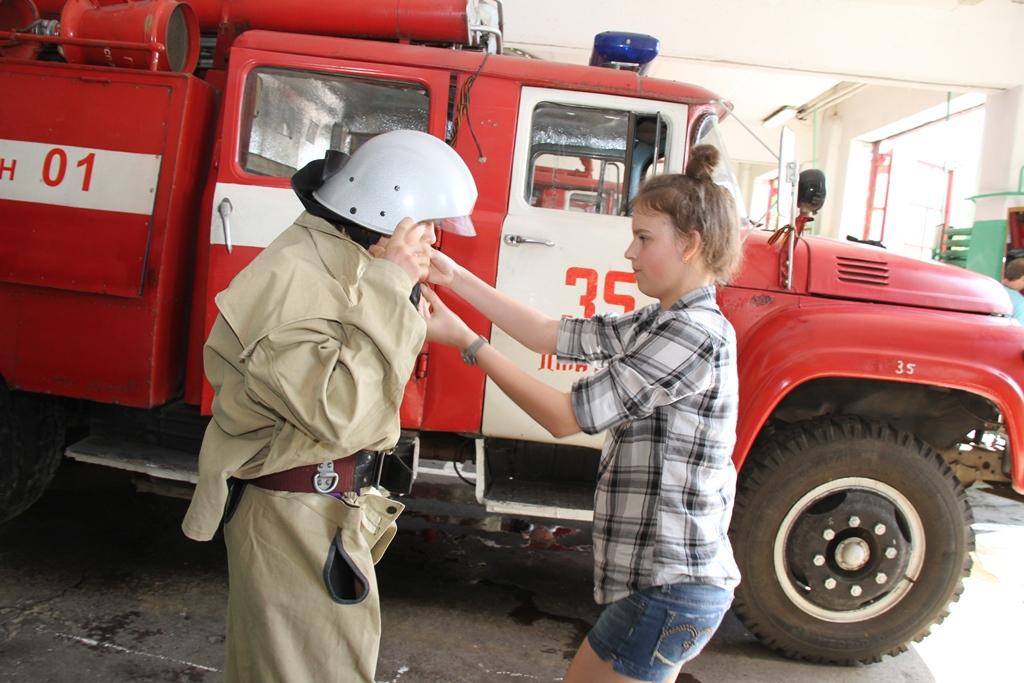 На базе пожарной части № 35, дислоцированной в Дмитрове, на прошлой неделе прошла традиционная районная игра по противопожарной тематике «01»