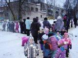 Пожарно-тактические занятия в Балашихинском детском садике